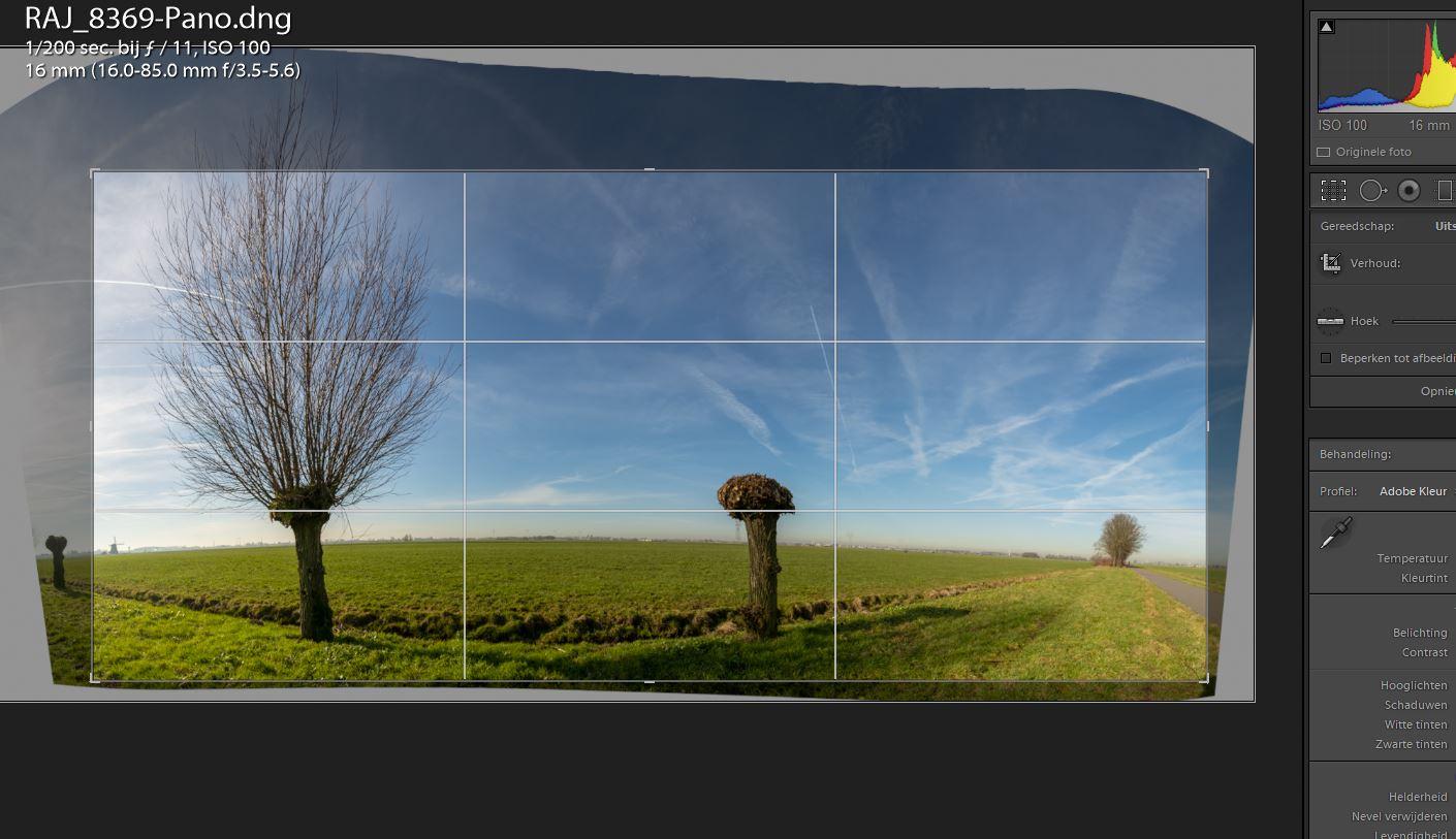 panoramas maken